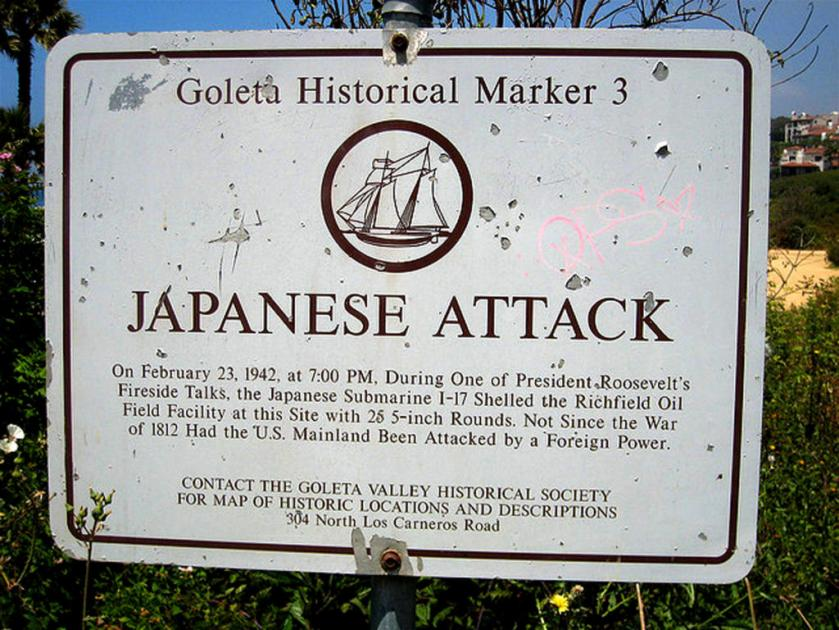 Japanese attack marker