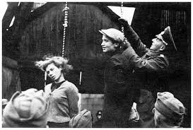Young Russians Hanged by Germans WWII